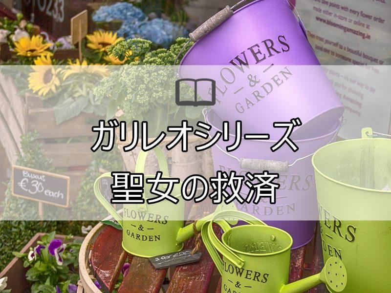 聖女の救済 東野圭吾 レビュー
